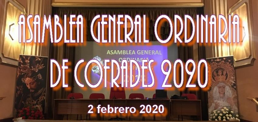 ASAMBLEA GENERAL ORDINARIA DE COFRADES 2020