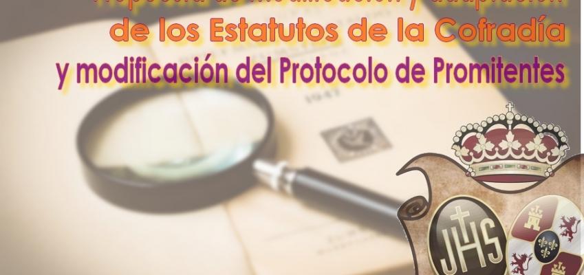 Proyecto de modificación de Estatutos y modificación Protocolo Promitentes