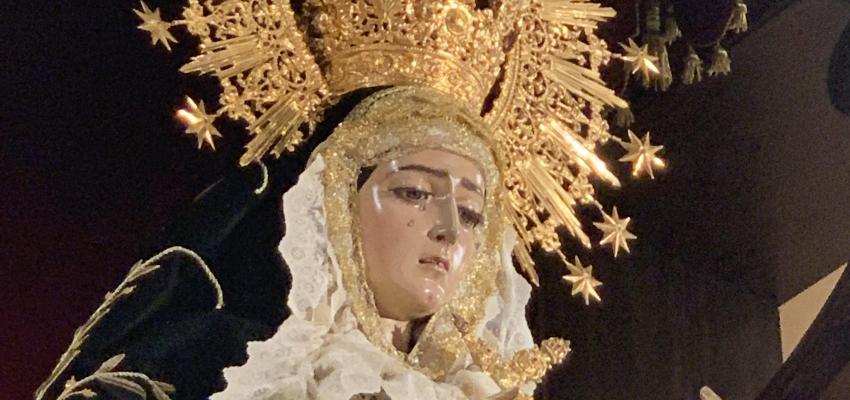 Primer día Triduo a María Santísima de los Dolores